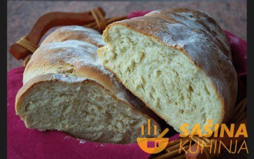 VIDEO – Kruh sa pire krumpirom Potato puree bread recipe