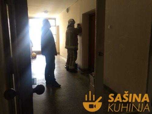 Karlovac – nadamo se najboljem, u tijeku provala vatrogasaca u stan