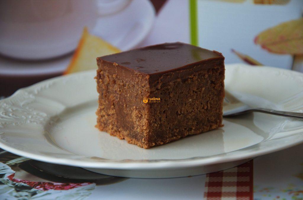 Čokoladne kocke sa orasima recept
