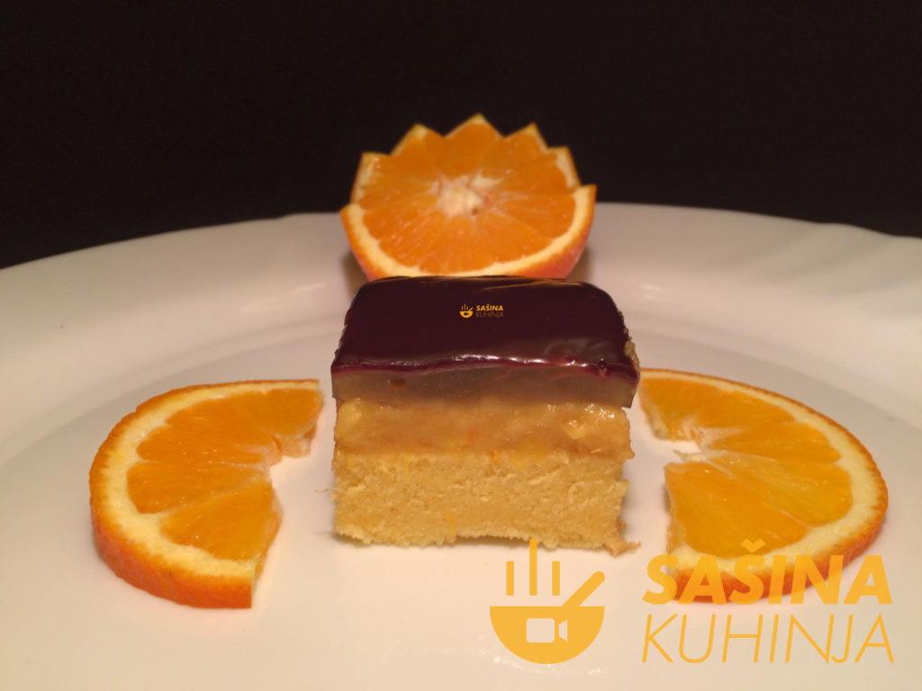 Foto Recept – Kolač Jaffa Tops Naranča