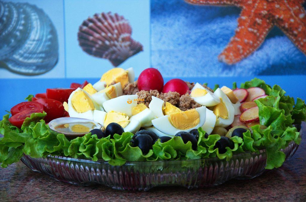 Salata Nica recept Nicoise Salad