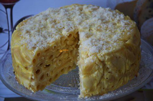 VIDEO – 4 Cheese Salted Pasta Cake Torta 4 vrste sira