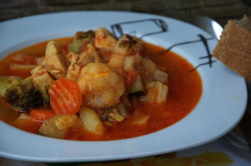 VIDEO – Easy Chicken Vegetable Recipe VESELI LONAC