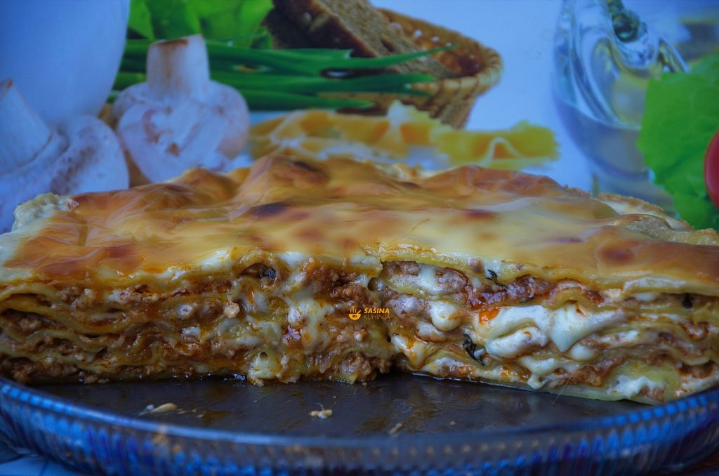 VIDEO – Lasagne Lazanje kompletan recept