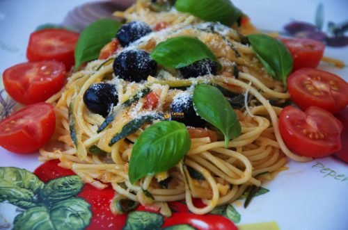 Pasta Zucchini Tjestenina sa tikvicama 10 min – VIDEO