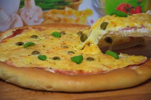 FOTO RECEPT – Pizza sa vrhnjem/pavlakom za kuhanje