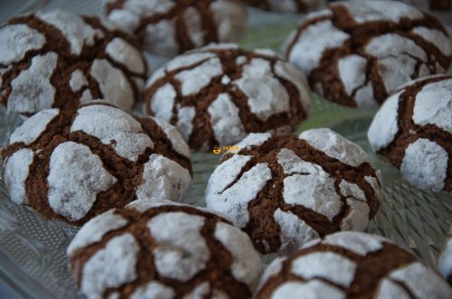 Raspucanci Recept Chocolate Crackle Cookies Recipe