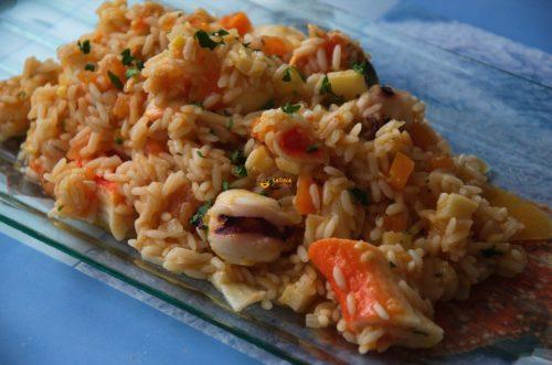 VIDEO – Seafood Risotto Ai frutti Di Mare Plodovi Mora