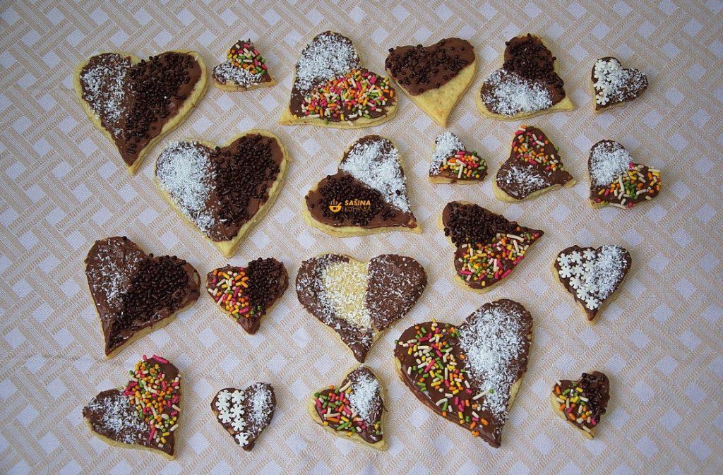 Valentinovo jednostavni kolačići za dan zaljubljenih