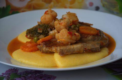 VIDEO – Kotleti Krmenadle sa Povrćem Pork Chop