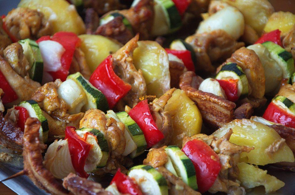 Kebab ražnjići recept
