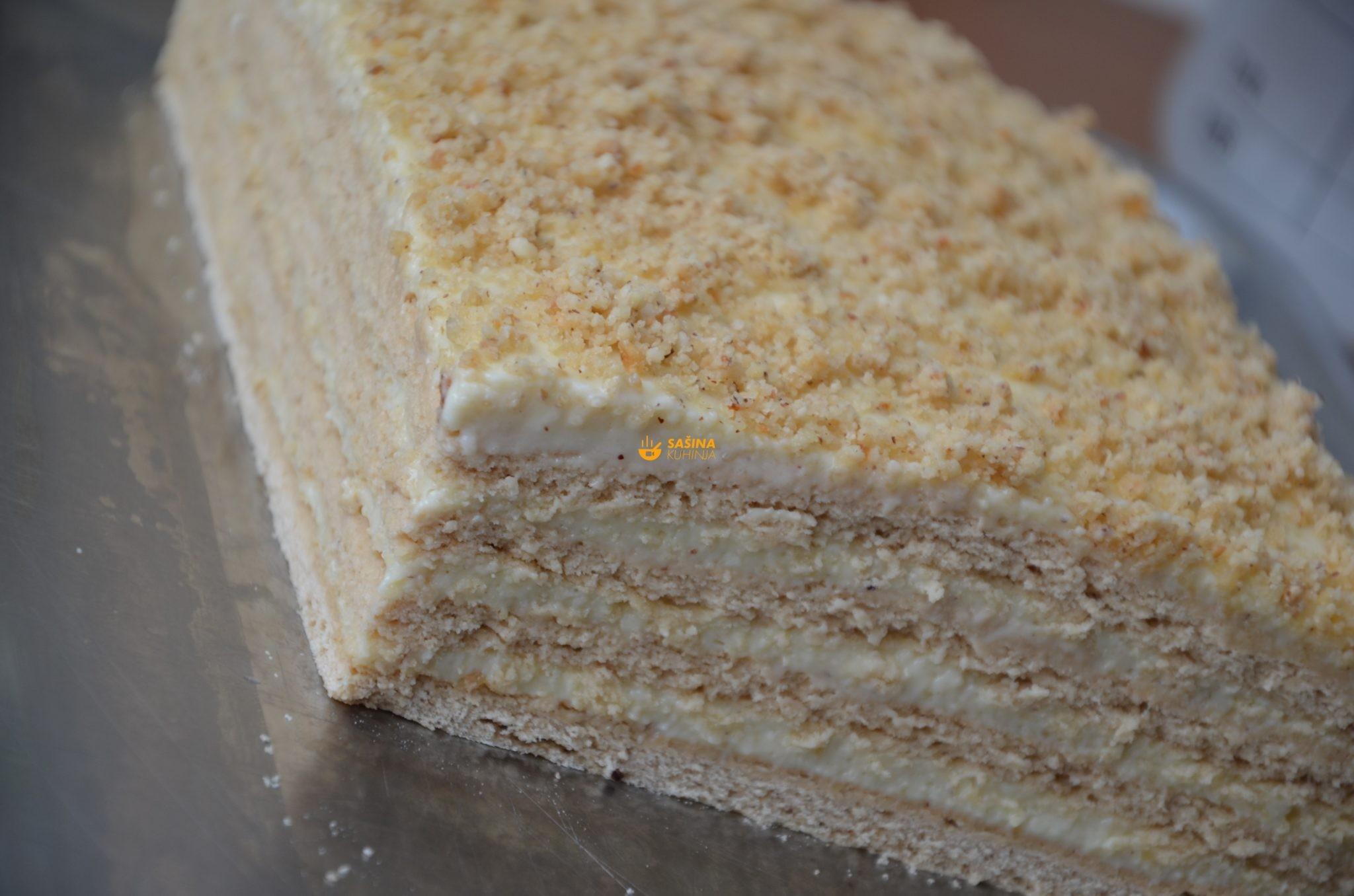 Lješnjak torta pita ili kolač