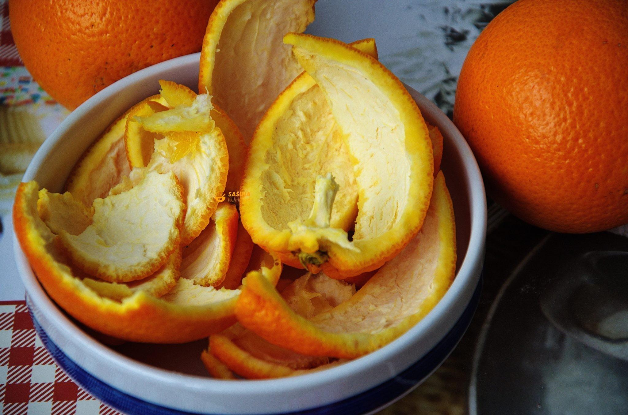 10 Razloga zašto ne bacati koru od naranče