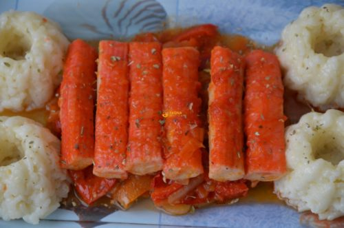 VIDEO – Surimi Sticks Sauce Surimi Štapići Umak