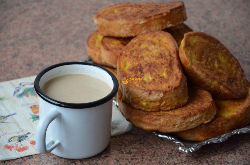 Pohani kruh prženice punjene sa sirom