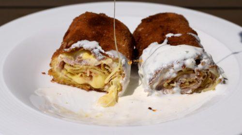 VIDEO – Palačinke sa šunkom i sirom Crepes Ham & Cheese
