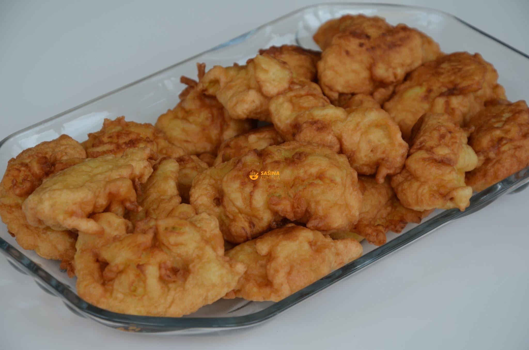 Uštipci ili popečki sa ribanim tikvicama recept