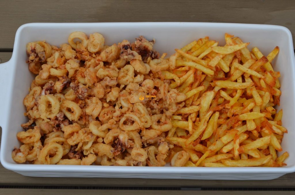 VIDEO – Fried Calamari & Pommes Frites Pržene Lignje i Pomfri