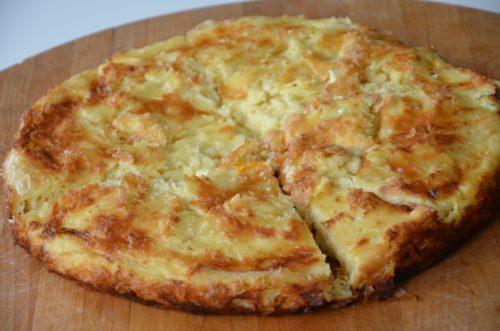 VIDEO – Gibanica Gužvara Phyllo Sheets Cheese Pie