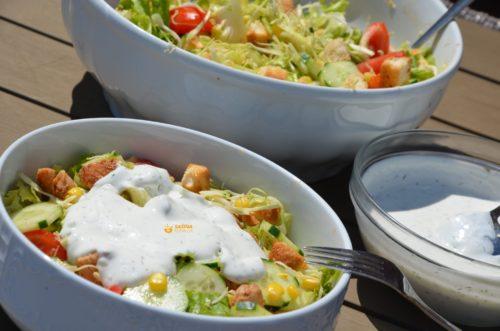VIDEO – Salata sa Piletinom Umak od Kopra Chicken Salad Dill Sauce