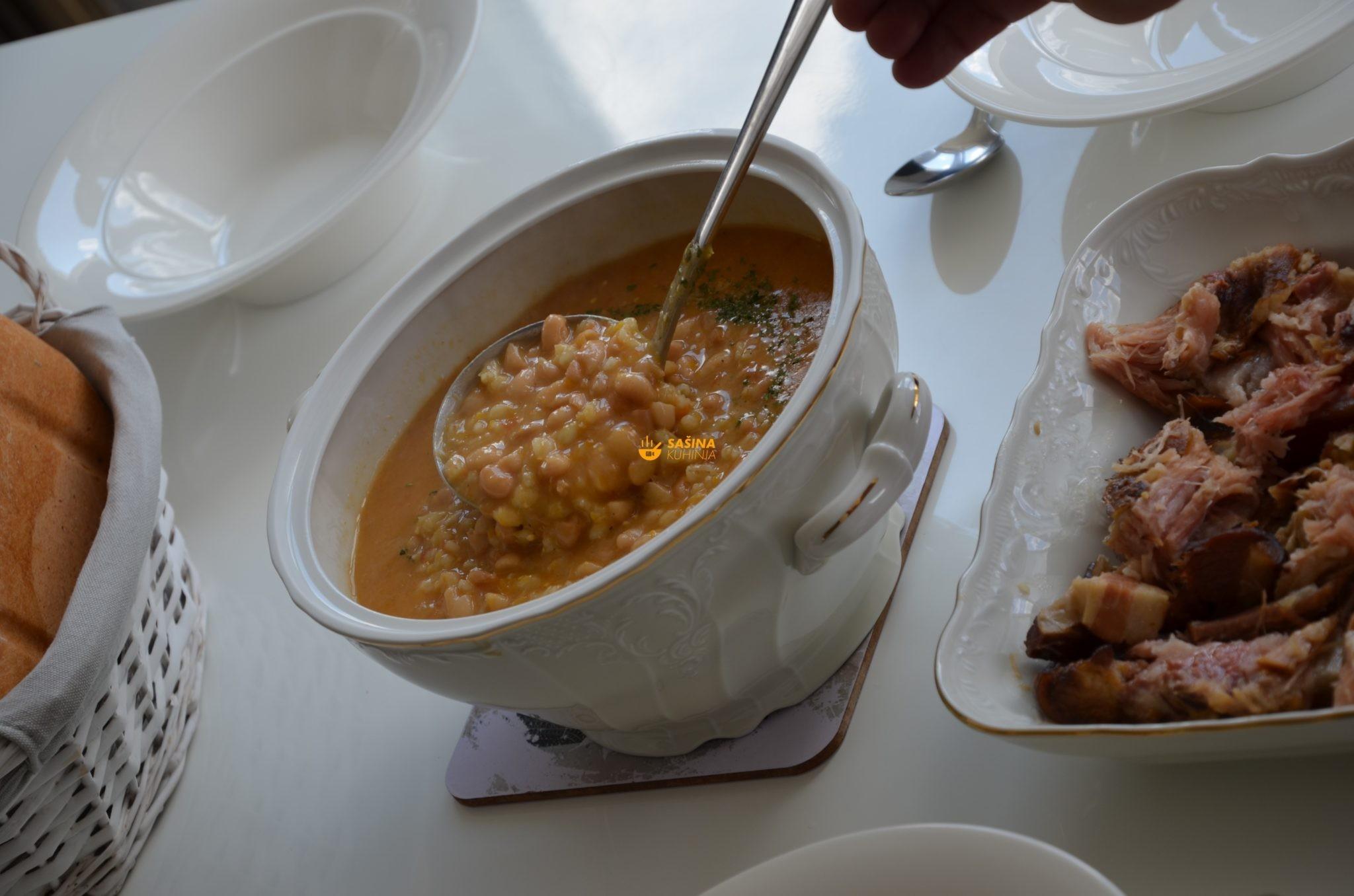 Grah i kaša recept za grah sa ječmenom kašom