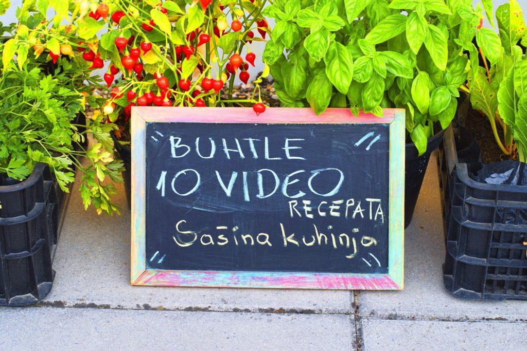 Deset video recepata za Buhtle razne vrste
