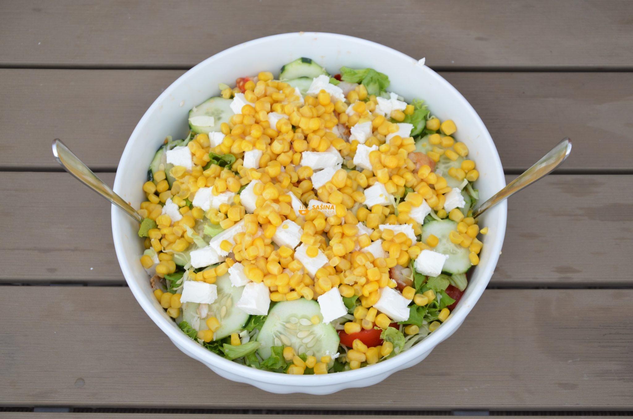 oslić na salatu