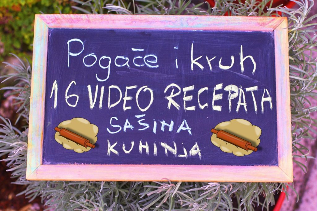 Šesnaest video recepata za razne vrste pogača i kruha