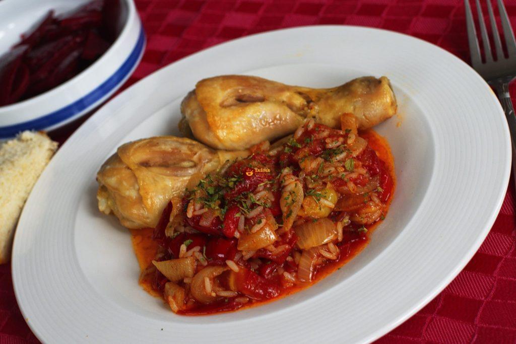 Jako fini ručak sa piletinom i povrćem