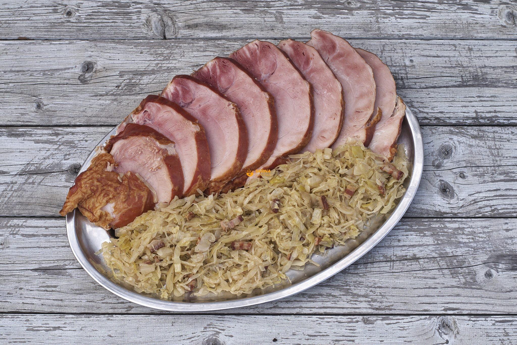 kiseli kupus pečeni svinjski but