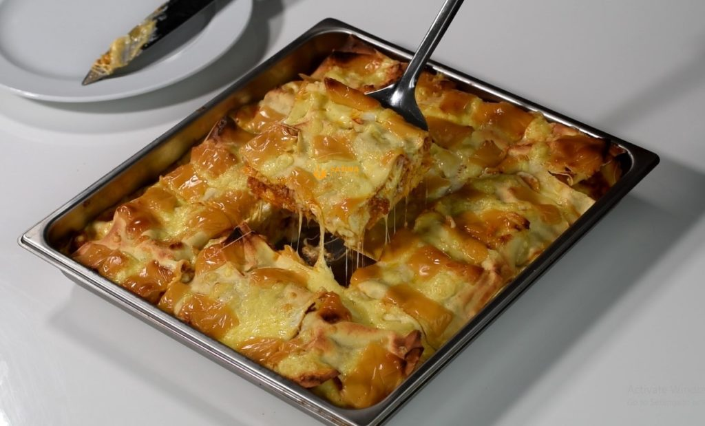 Lazanje Osnovni Recept Lasagne Basic Recipe – VIDEO