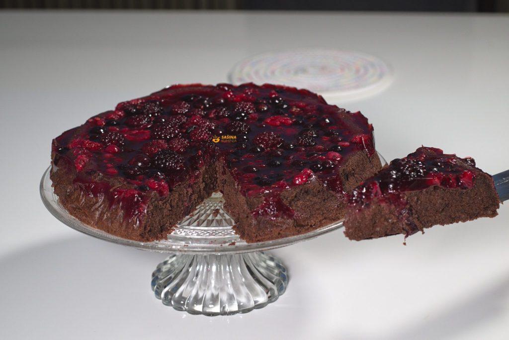 Brza čokoladna torta bez brašna No Flour Chocolate Cake