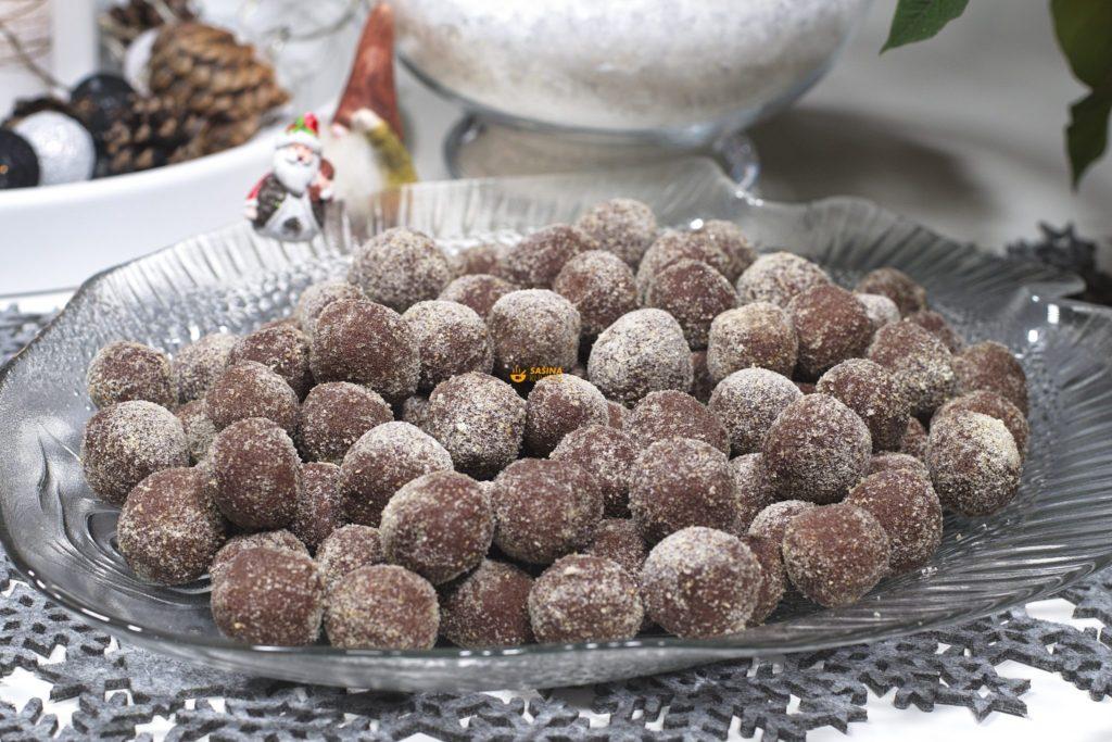 Kuglice od čokolade i piškota Ladyfingers Choco Balls – VIDEO