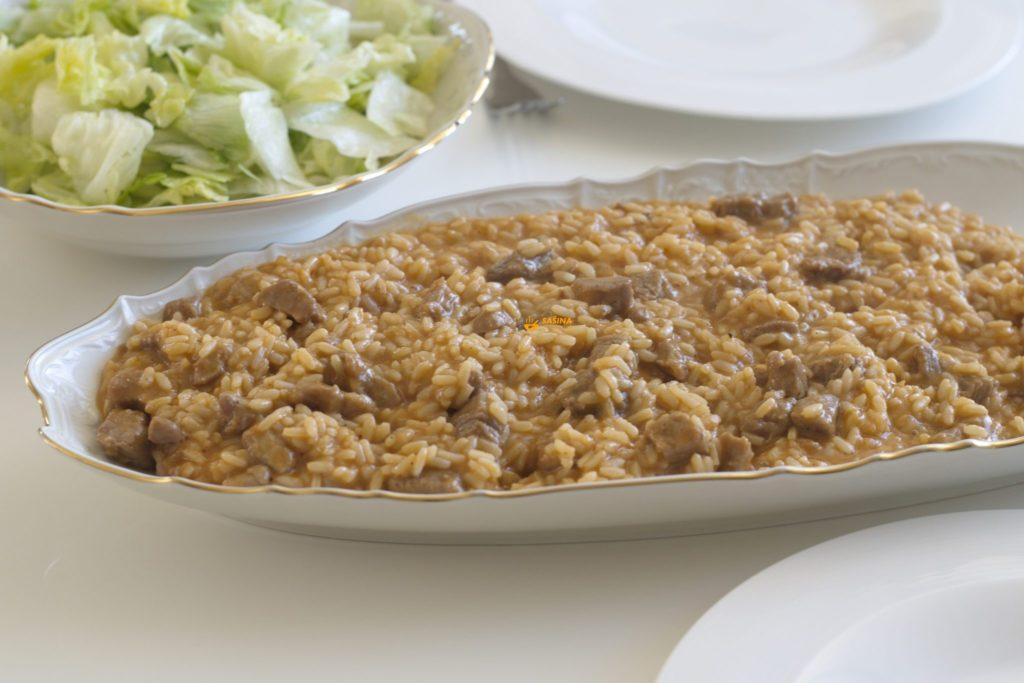 Kremasti rižoto recept