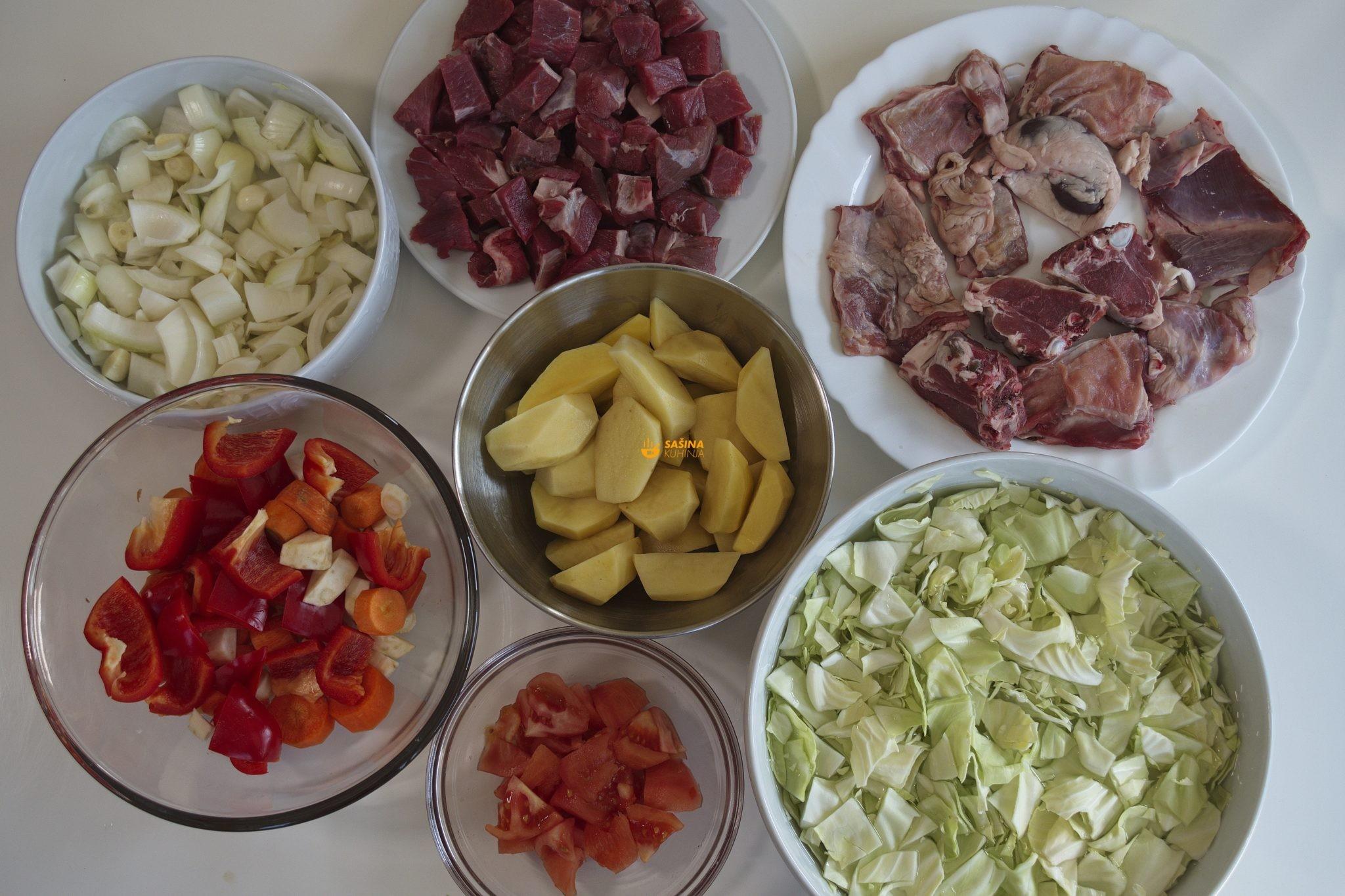 Bosanski lonac recept