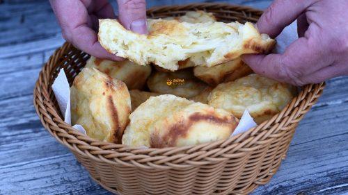 Punjene pogačice sa sirom za iznenadne goste