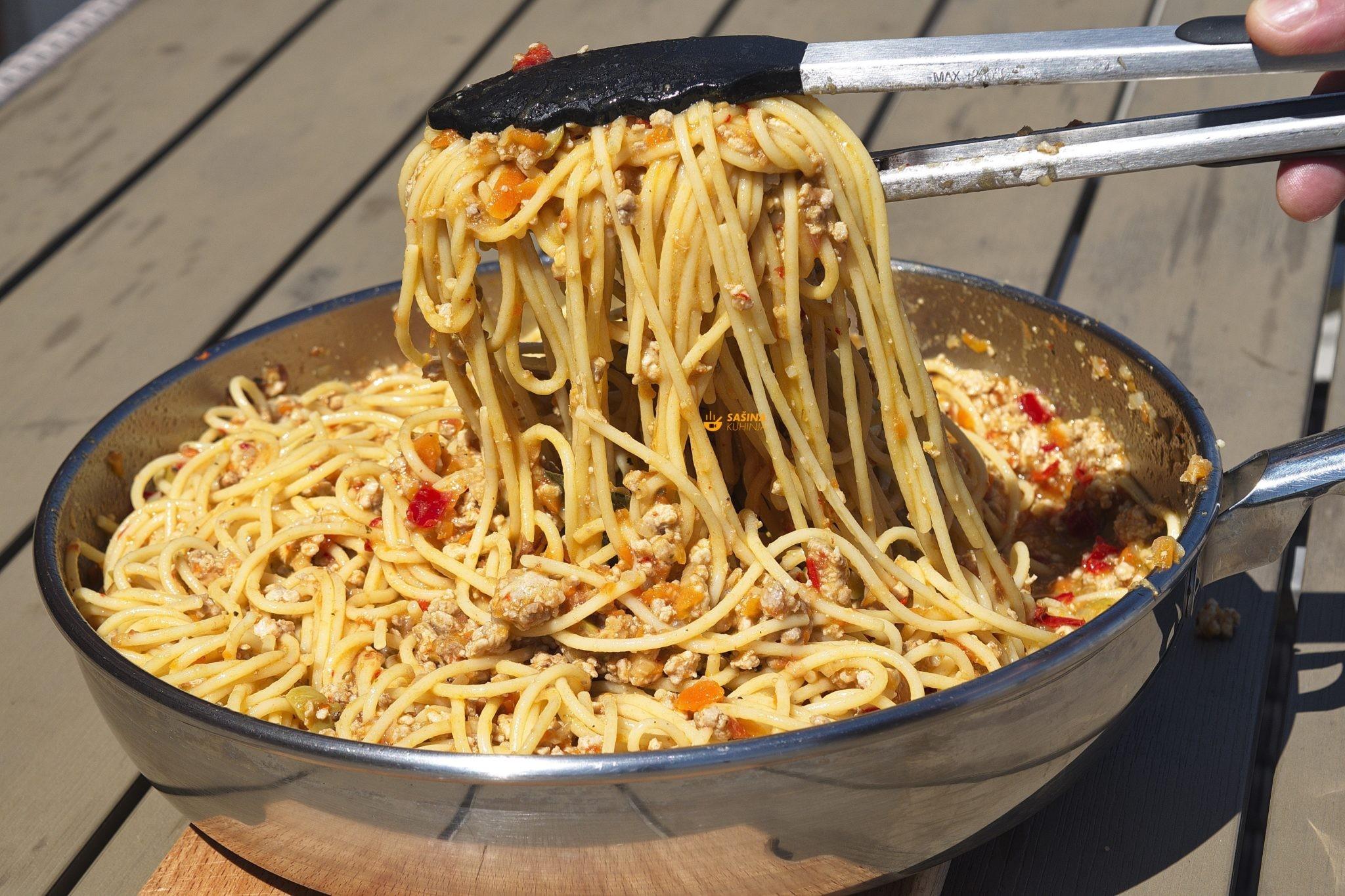 Špageti Bolonjez Spaghetti Bolognese