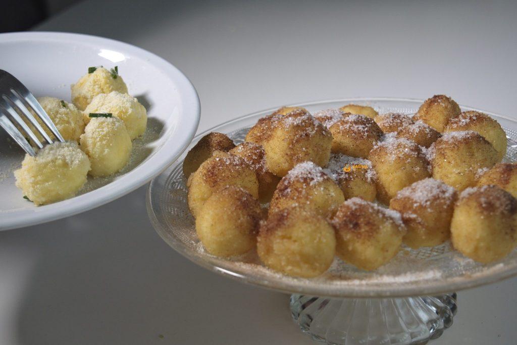Knedlice od sira pire krumpira slane i slatke