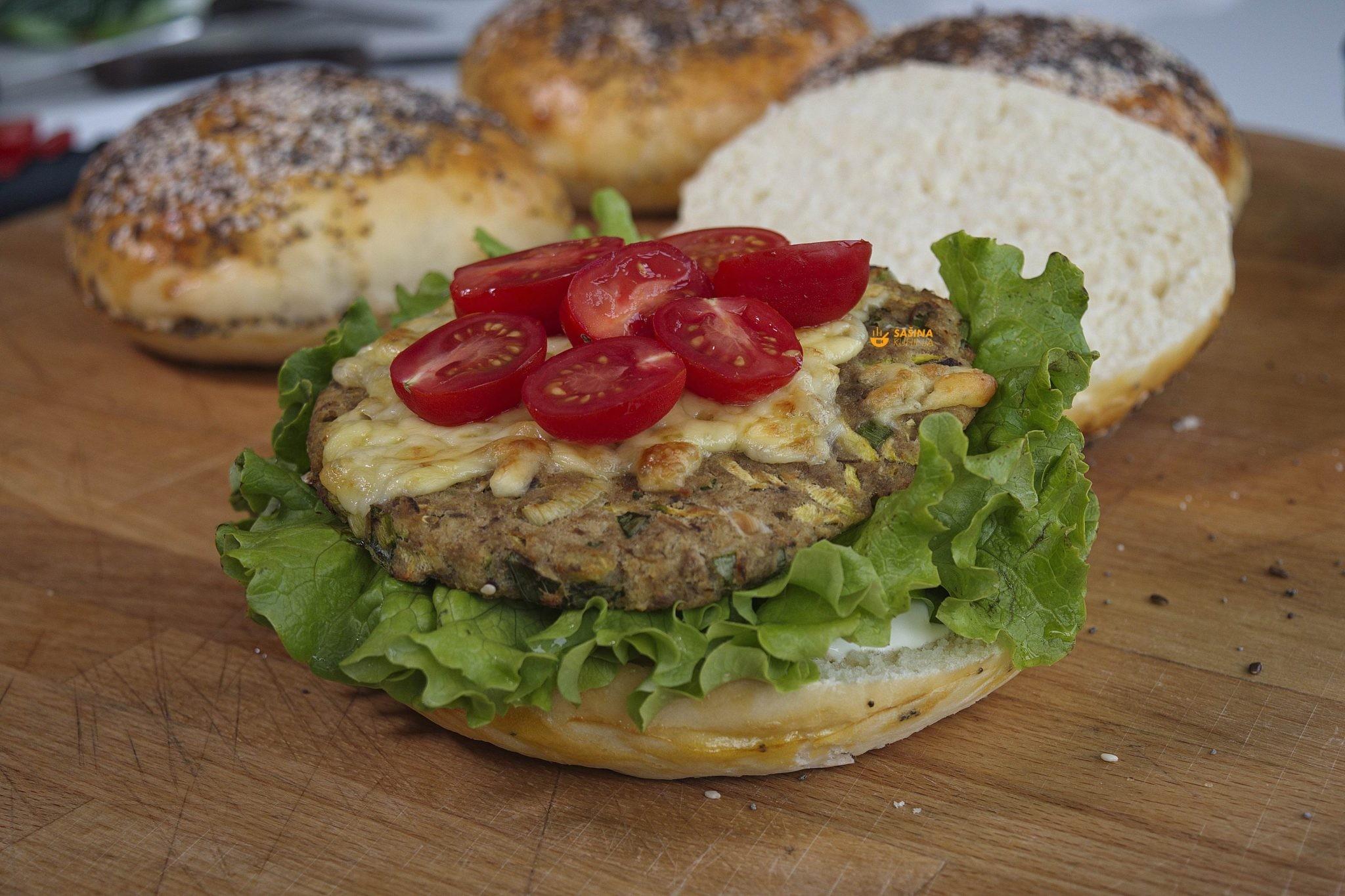 tuna burger buns peciva sasina kuhinja