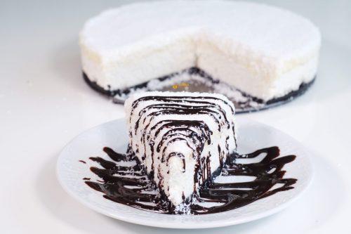 Oreo Cheesecake sa kokosom – VIDEO