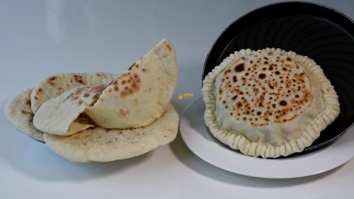 Pita Bread Recipe Recept – VIDEO
