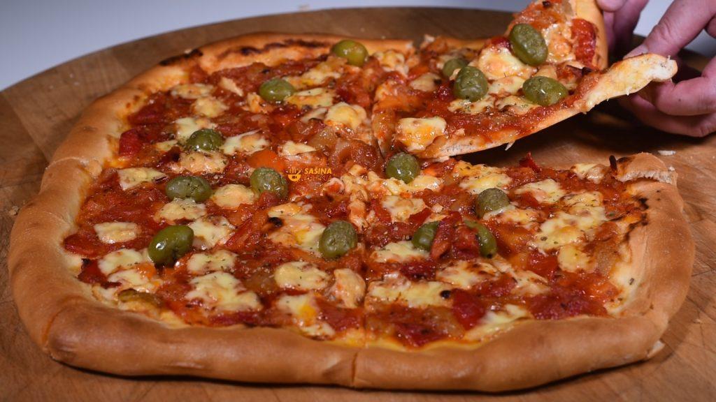 Sataraš pizza koja će vas oduševiti okusom