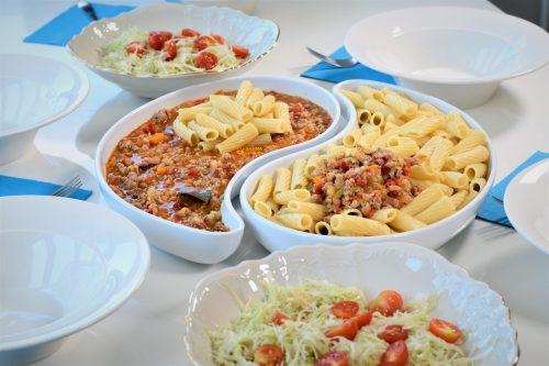 Sezonska tjestenina sa povrćem i mljevenim mesom