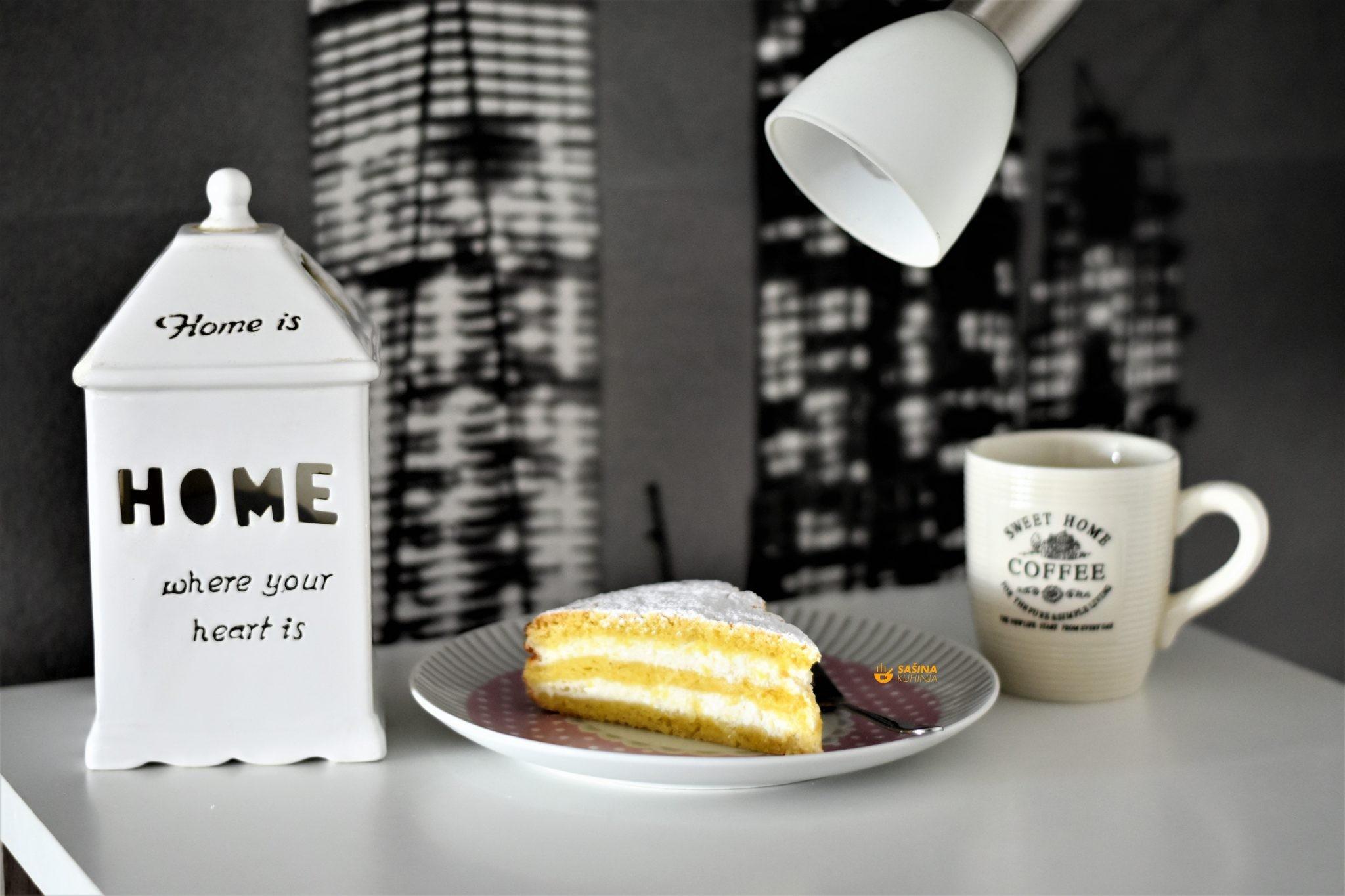 jednostavna torta od sira