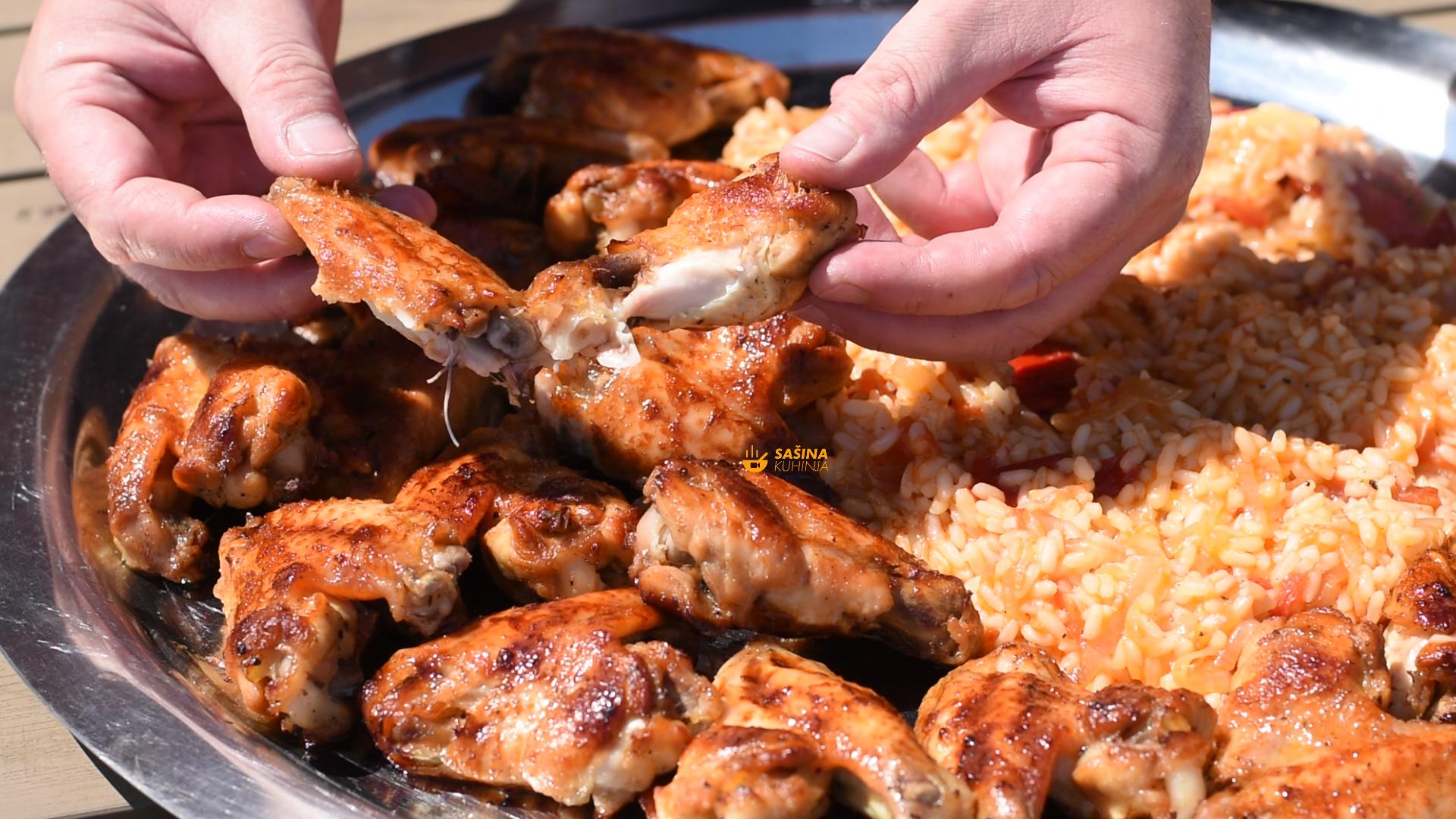 pileća krilca chicken wings