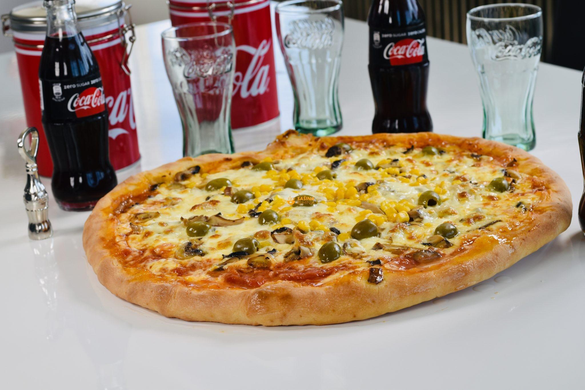 brza pizza bez kvasca i dizanja