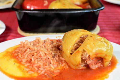 Punjena paprika iz pećnice recept – VIDEO