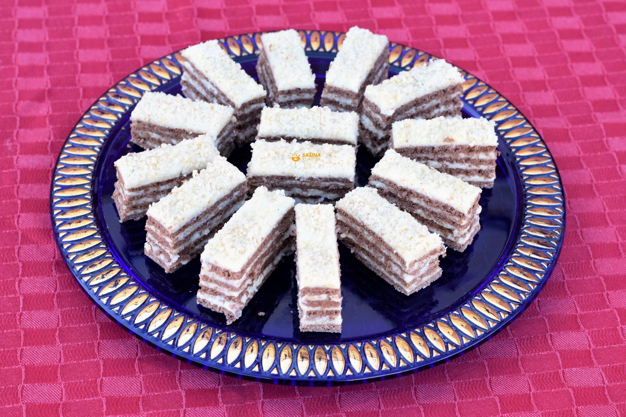 pita od badema kolač almond cake