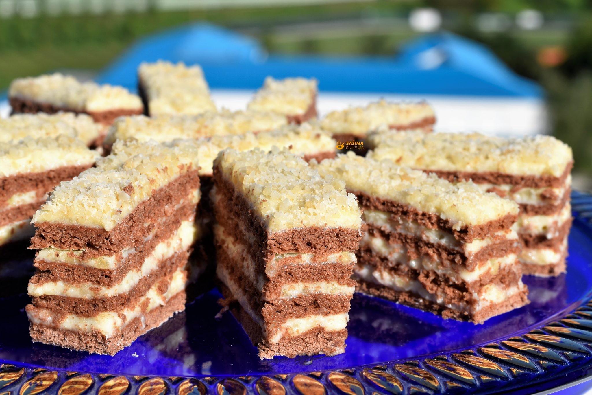 kolač od badema pita almond cake