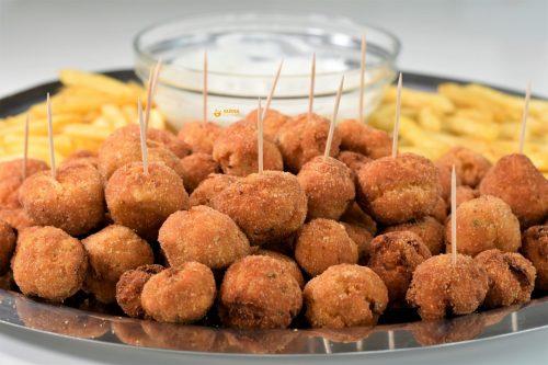 Finger food mini mesne okruglice – VIDEO